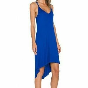 Splendid Rib Royal Blue Dress Size M